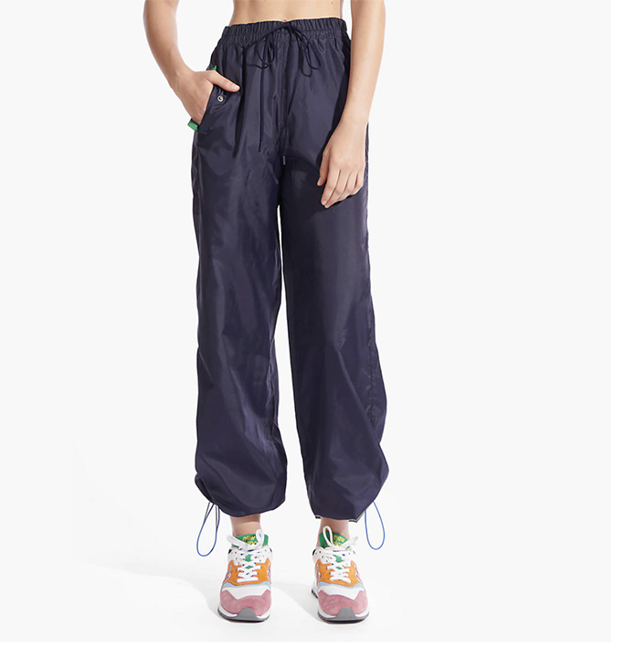 New Balance x Staud Woven Pants, navy, sweat sets