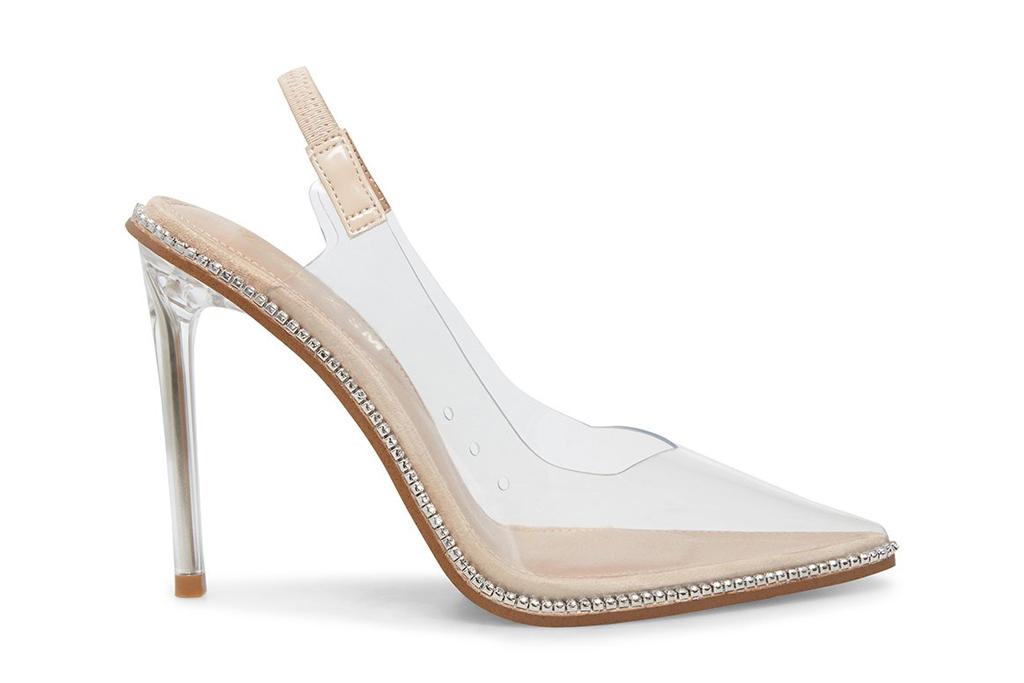 steve madden, pvc, heels