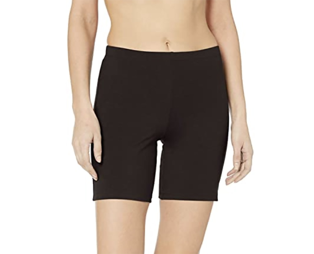 Hanes Women's Stretch Jersey Bike Short, amazon, sweat set