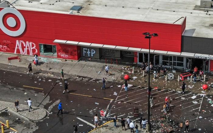 Target Minneapolis looting