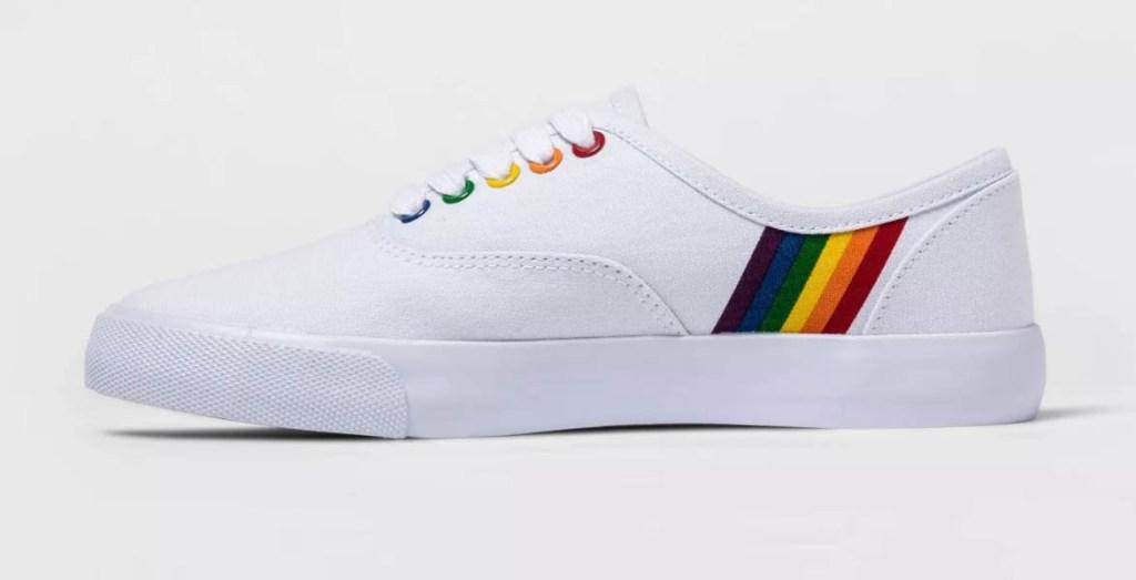 target pride sneaker 2021, lgbtq, rainbow