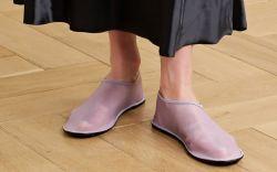 netaporter, the row, mesh slippers, the