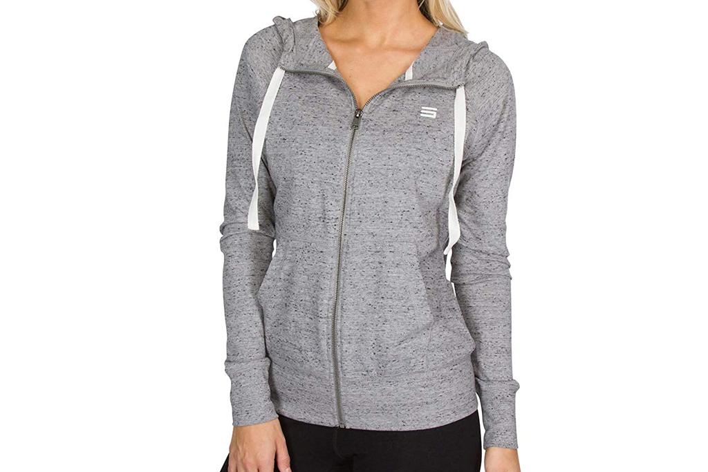 three sixty six, running, hoodie, women