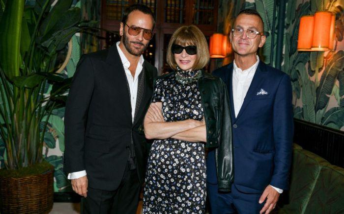 tom ford, anna wintour, steven kolb, cfda, british fashion council