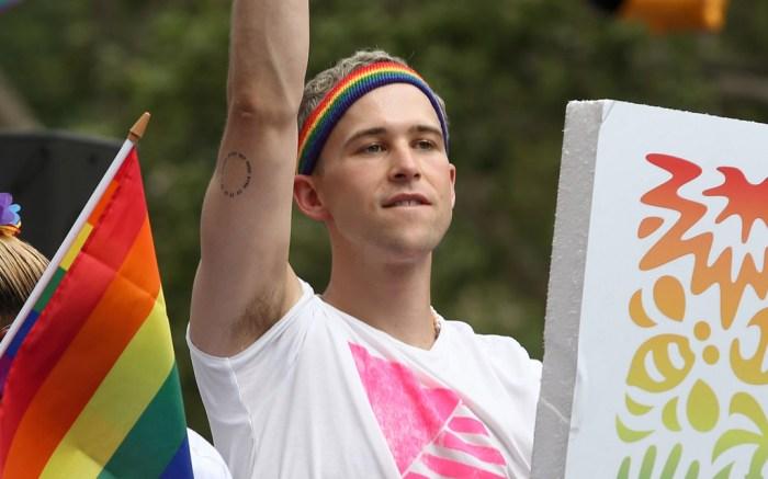tommy dorfman, pride, pride parade, lgbtq+