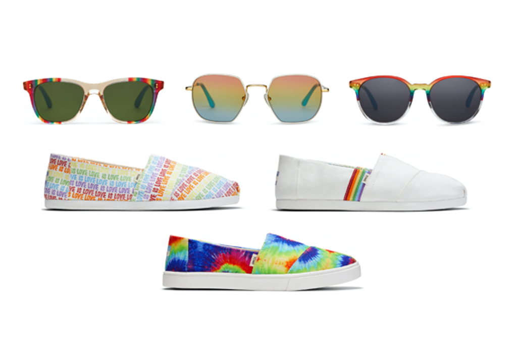 2020 Unity Collection, toms, pride, lgbtq, shoes, rainbow