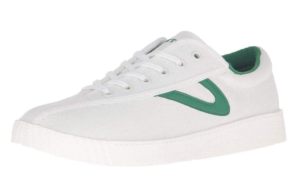 tretorn, sneakers, green, white