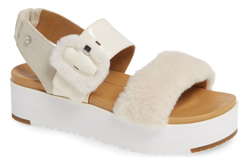 Ugg Le Fluff Flatform Sandals