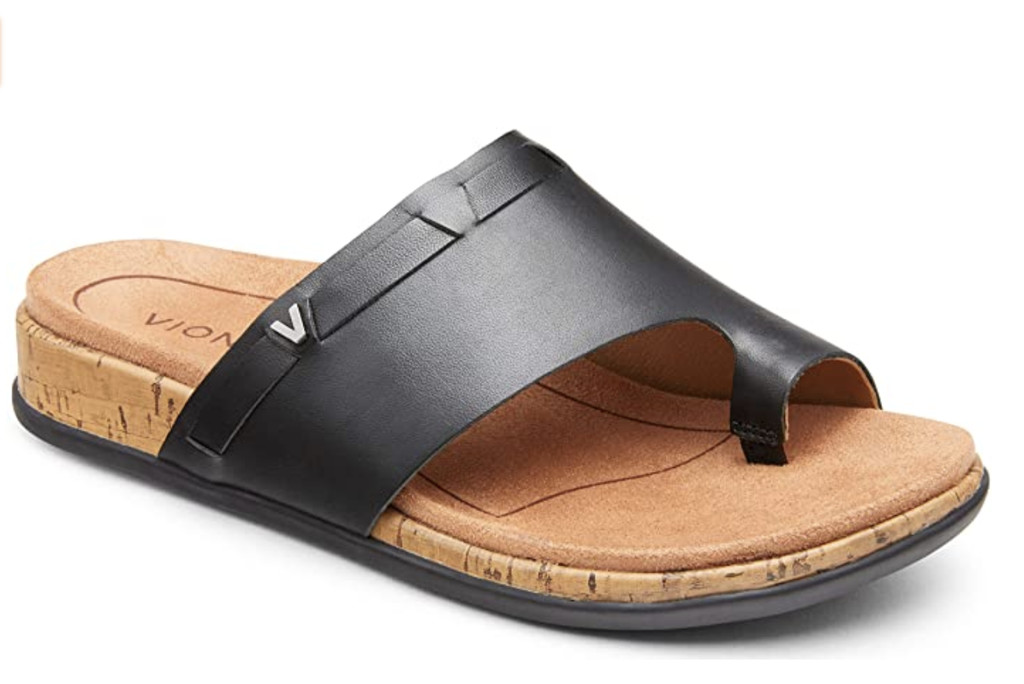 Vionic Women's Cindy Toe-Post Sandal, ugly sandal trend, sandals for bunions