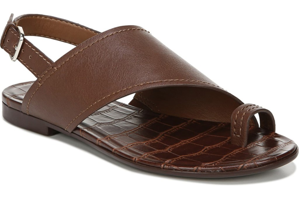 Naturalizer Seanna Slingback Flat Sandal, ugly sandal trend, shoes for bunions.