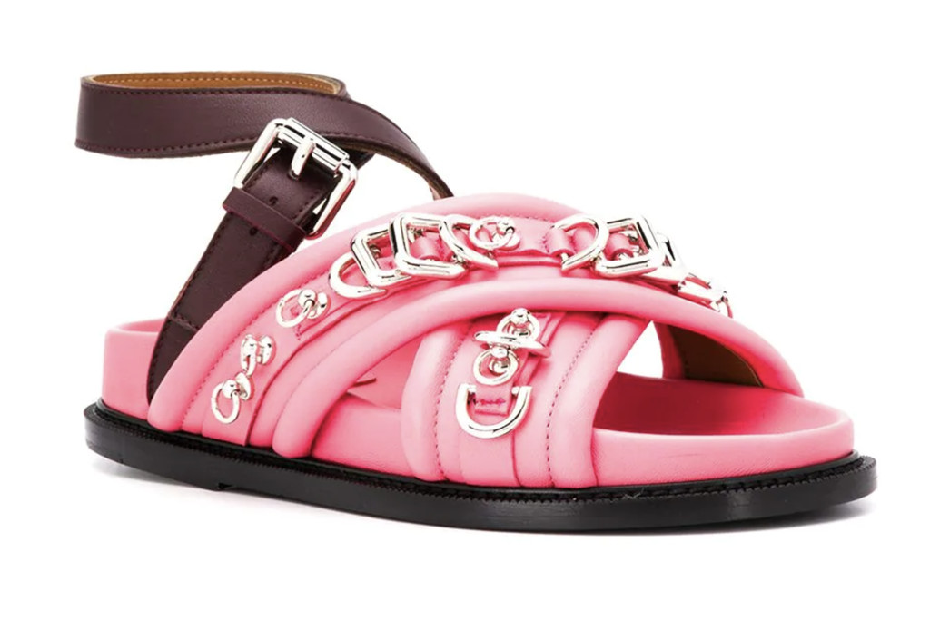 D-ring chunky sandals by Cedric Charlier, ugly sandals, cute sandals for ugly feet.