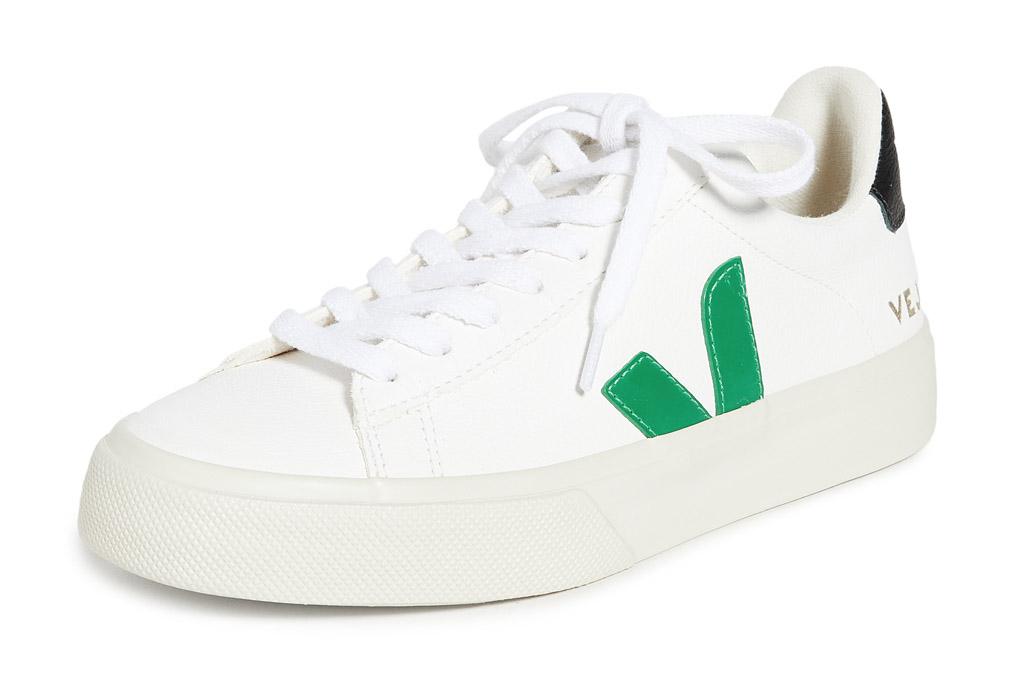 veja, sneakers, green, white