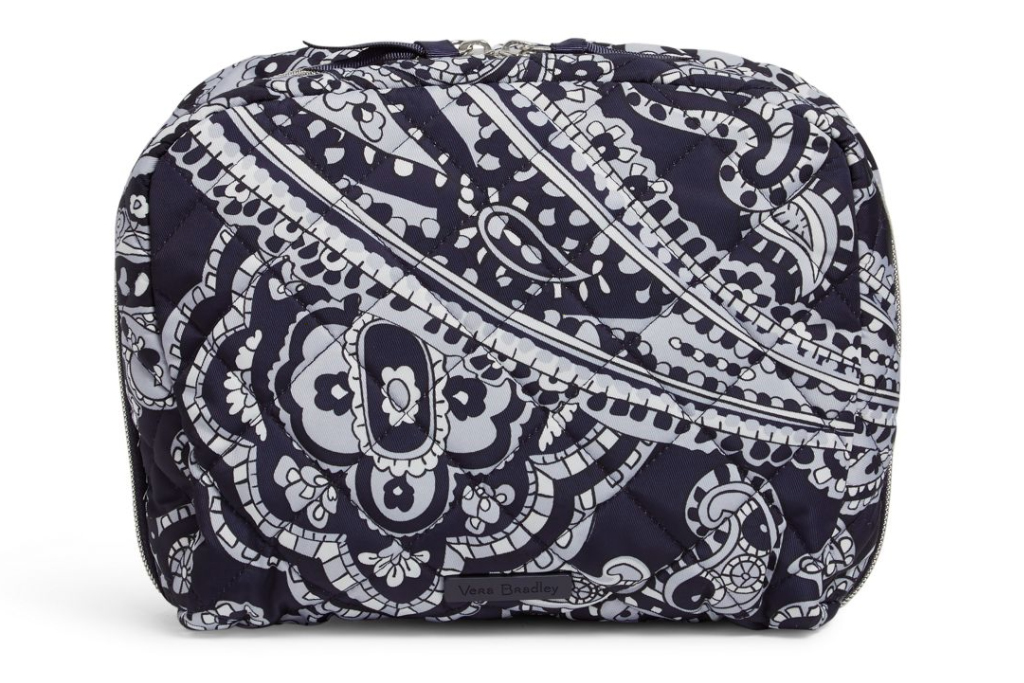 vera bradley, face mask, cosmetic bag