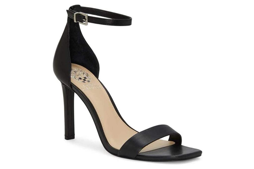vince, black sandals