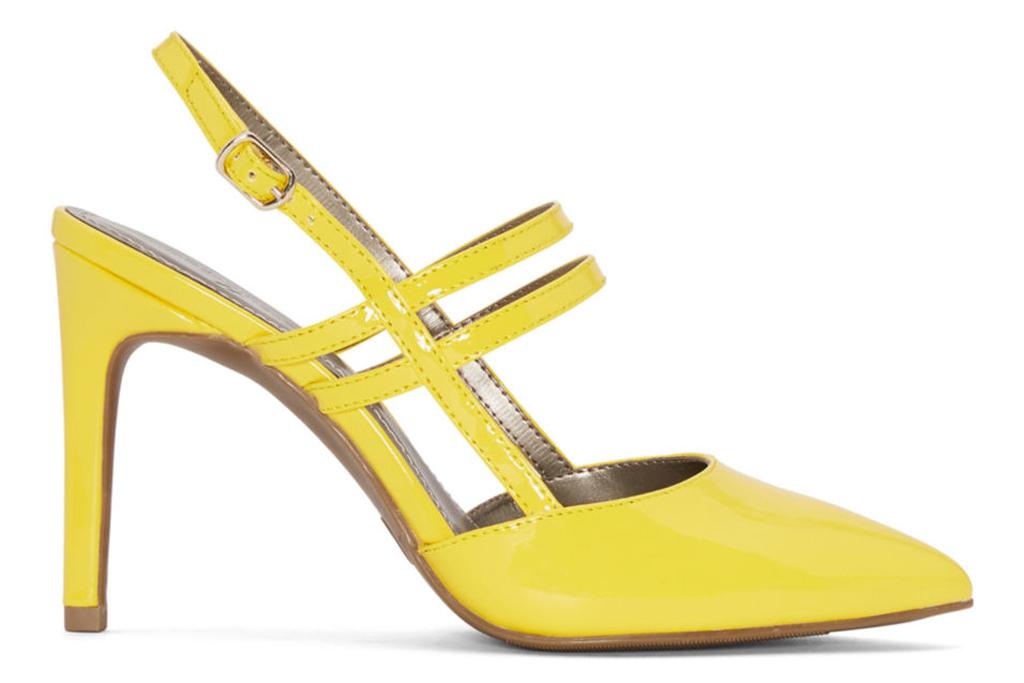 worthington, yellow pumps