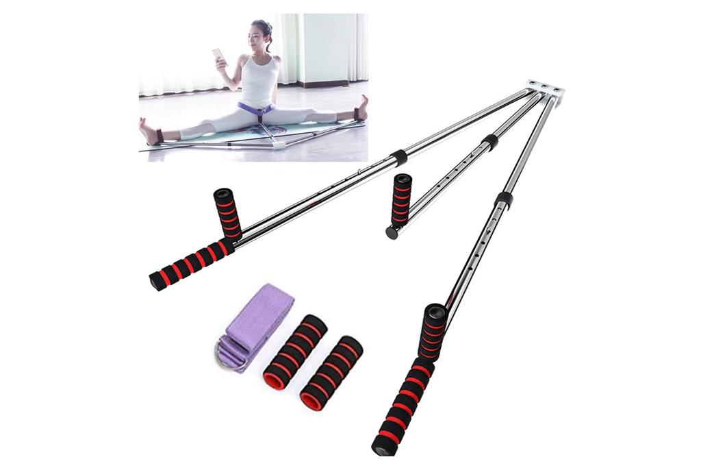 yi xuan, leg stretcher, 3 bar