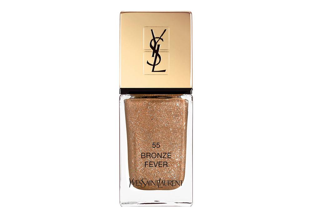 ysl, nail polish, bronze