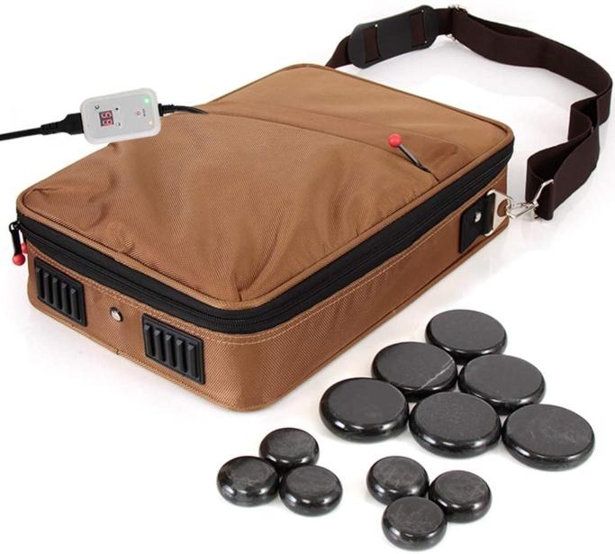 SereneLife Massage Stone Set