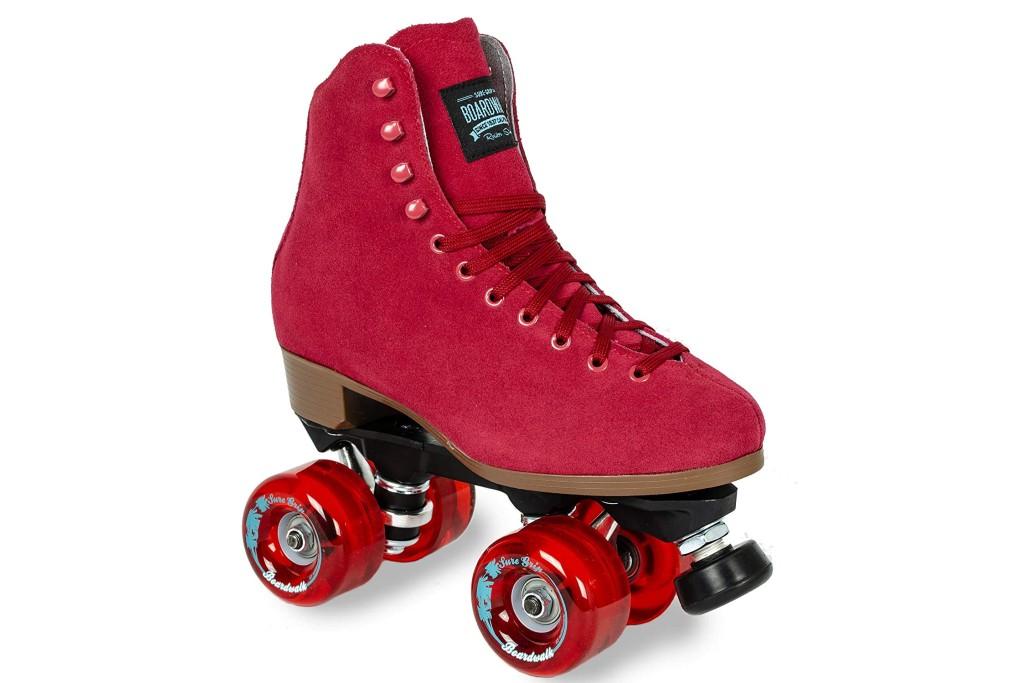 Sure-Grip Red Boardwalk Skates