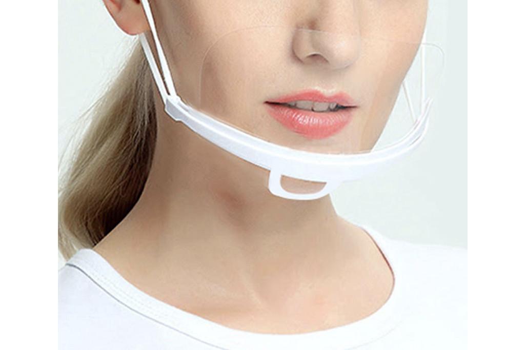 clear face masks, face mask, asl friendly face masks