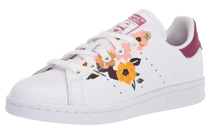 adidas stan smith floral, floral sneakers