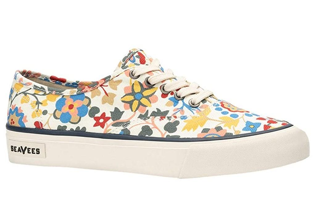 floral sneakers, SeaVees Legend Liberty Sneaker