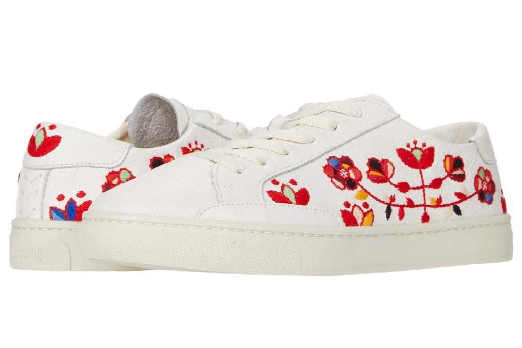 Soludos Artsy Floral Sneaker, floral sneakers