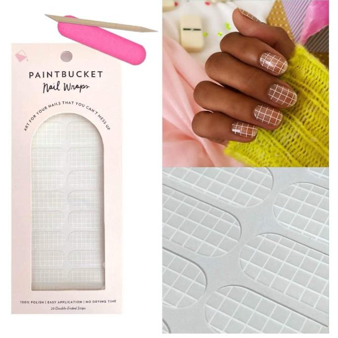 paintbucket nail wraps, nail strips