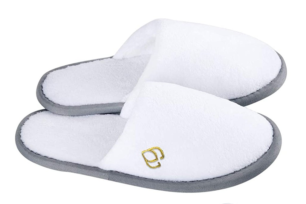 Foorame DIsposable Spa Slippers, disposable slippers