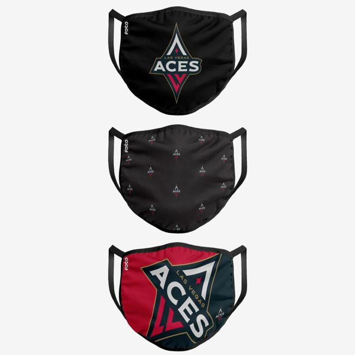 face mask, sports, aces, las vegas