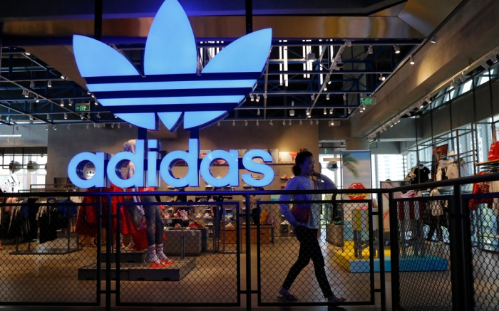 Adidas, store, beijing, china