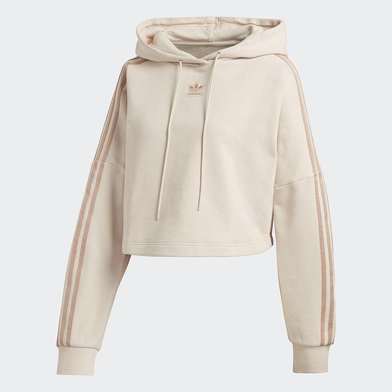 adidas, crop hoodie