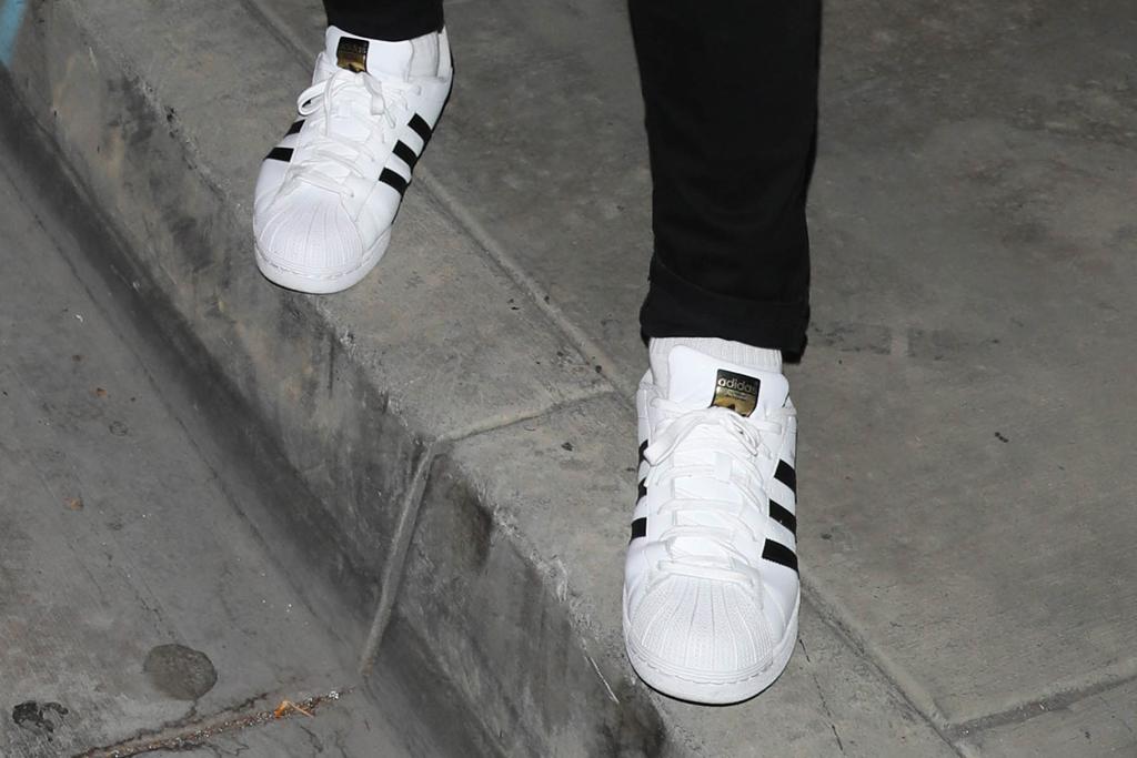 Adidas Superstar, pk subban, sneakers, street style, la,