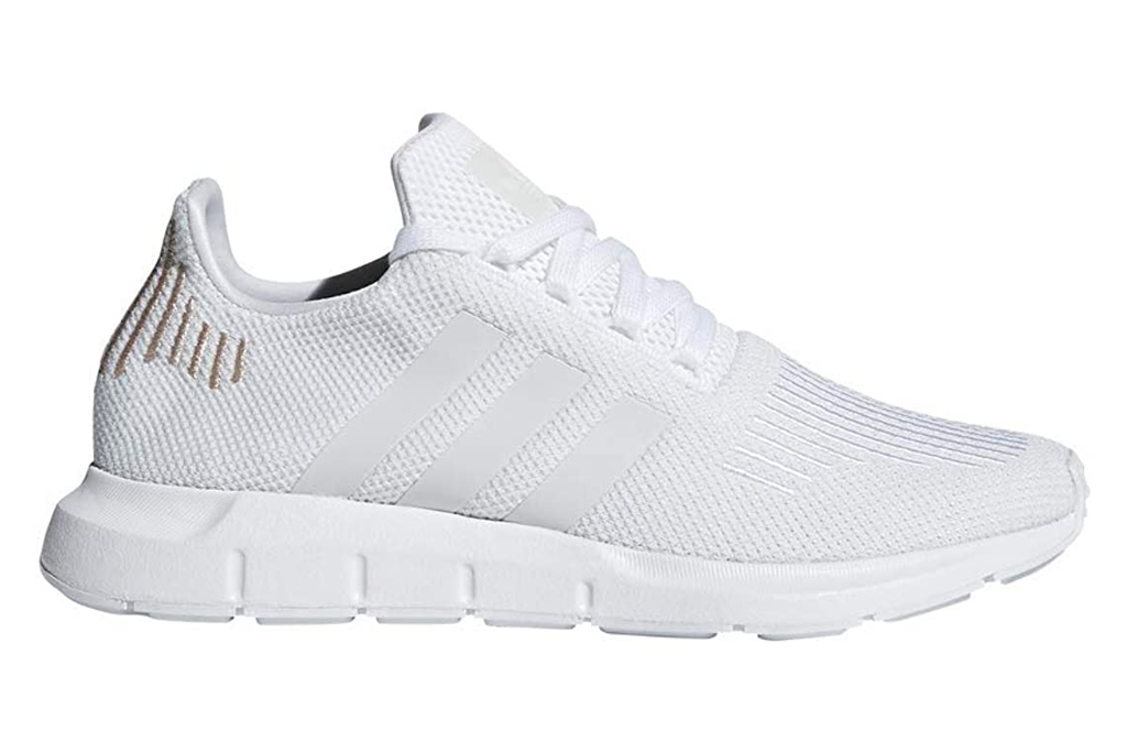 adidas, running shoes, white