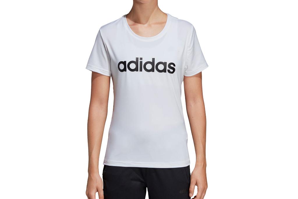 adidas, tshirt, womens, white