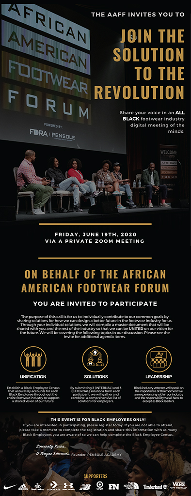 African American Footwear Forum June 19