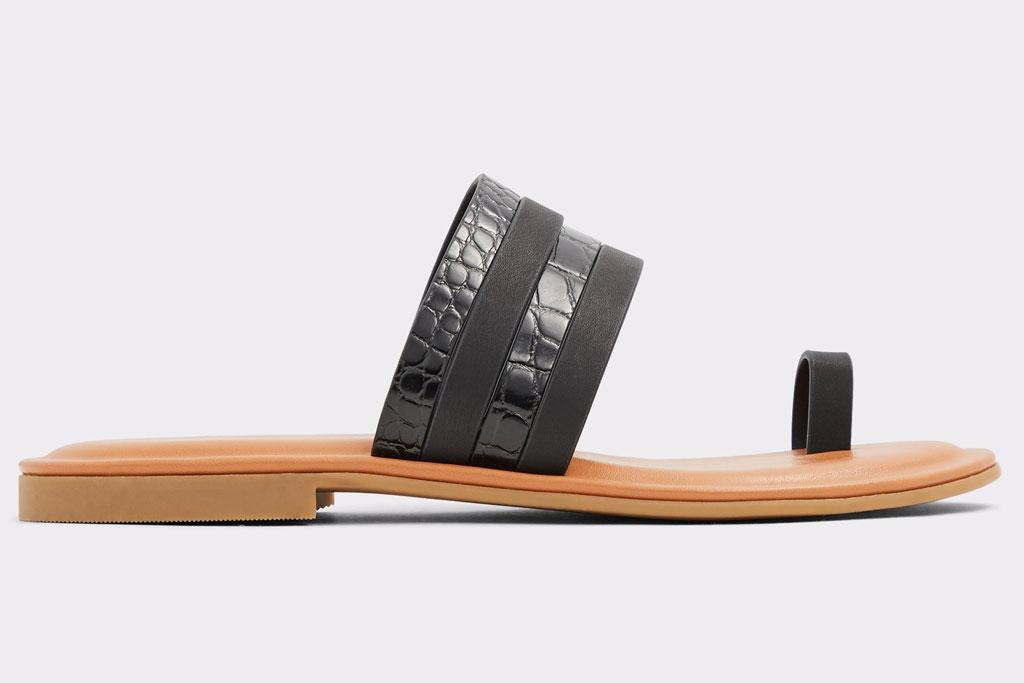 Aldo, big toe sandals
