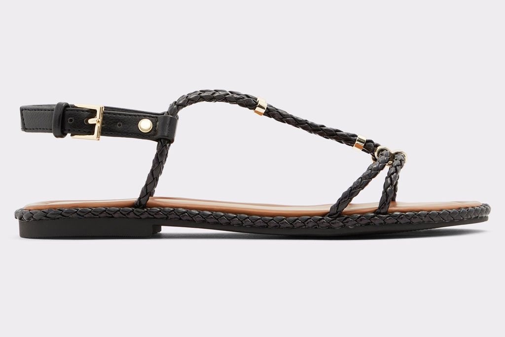 aldo, flat sandals