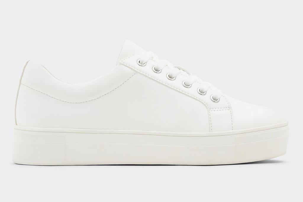 Aldo, white sneaker