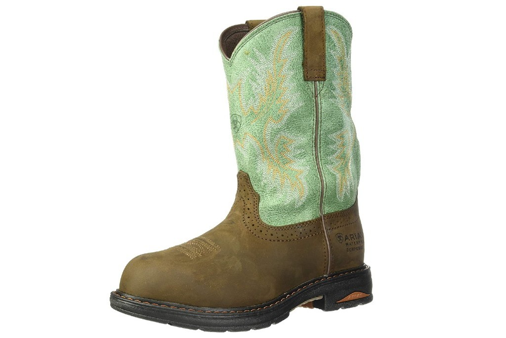 Composite Toe Pull-On Work Boots for