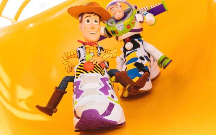 Bait Disney Pixar Reebok Instapump Fury OG Buzz and Woody