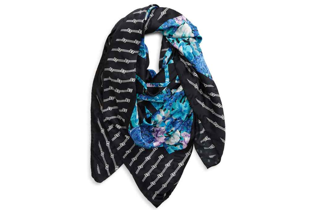 Balenciaga, silk scarf