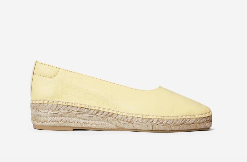 everlane espadrille, summer shoes, best everlane shoes