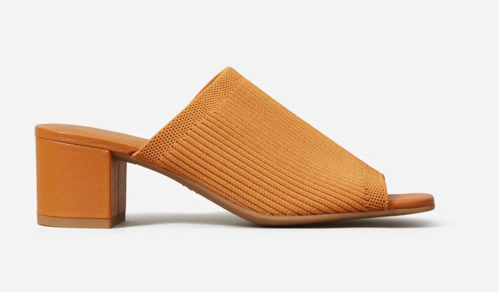best of everlane, everlane glove knit heel, slip on heel