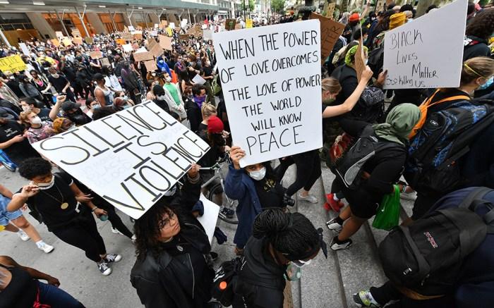 black lives matter protest new york