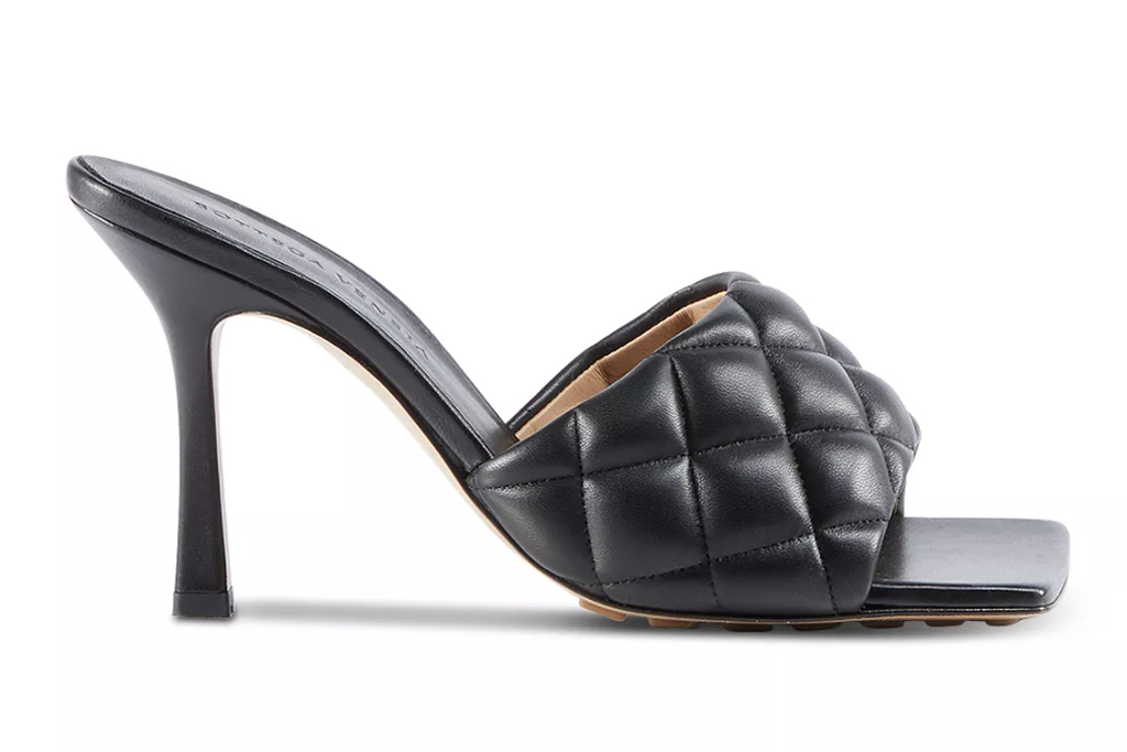 Bottega Veneta, square-toe sandals