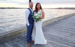 Gabrielle Bove wedding