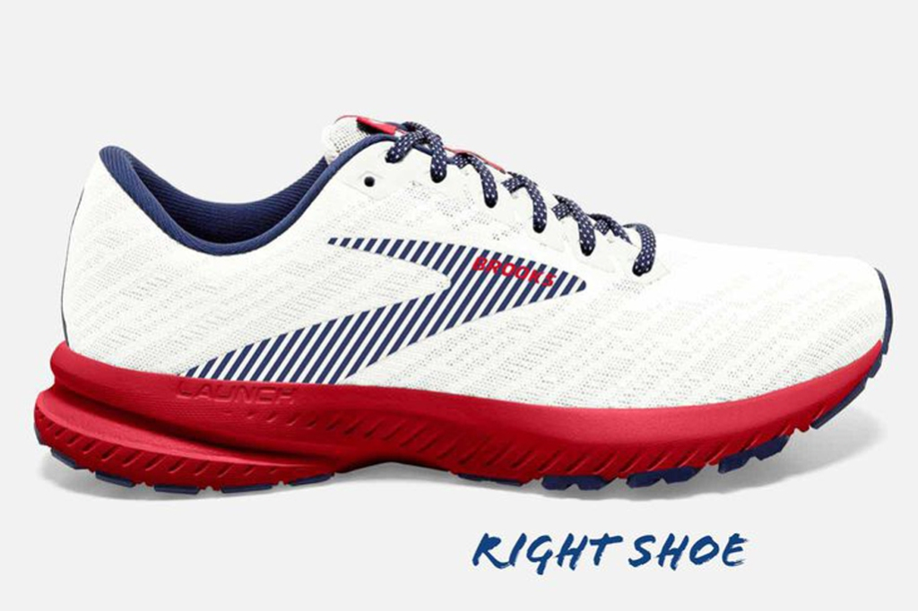 Brooks Run USA Launch 7 Women's Road Running Shoes, american flag shoes, brooks sneakers