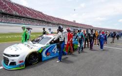 Bubba Wallace NASCAR Talladega Superspeedway