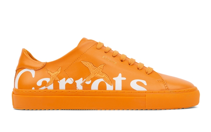 Carrots x Axel Arigato Clean 90 orange